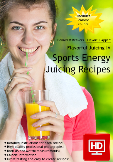 Sports Juicing Recipes Cookbook