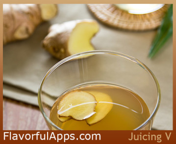 Pear and Ginger Juice Recipe