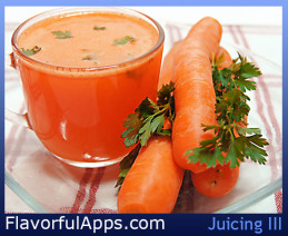 Carrot Juice with Parsley Recipe